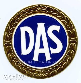 "Tabliczka z logo ""DAS"""