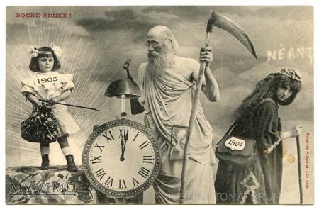 Duże zdjęcie Nowy Rok 1905