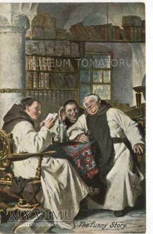 Monk Friar Mönch capucin zakonnik - miłe chwile 2