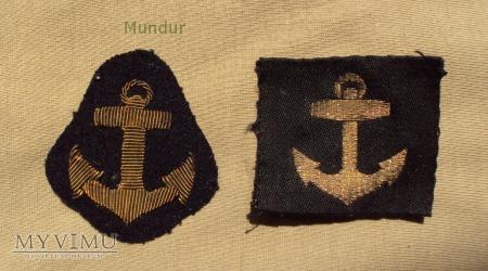 Oznaki stopnia szwedzkiej marynarki