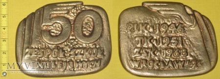 Medal kolejowy - usługowy ZSK we Wrocławiu