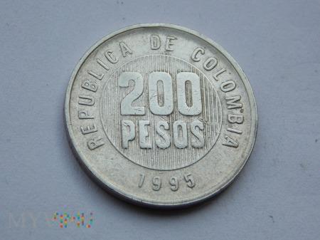 200 PESOS 1995 - KOLUMBIA