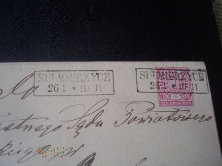 SULMIERZYCE - OSTROWO 1871