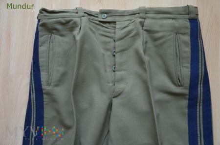 Spodnie letnie generalskie