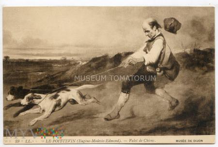 Duże zdjęcie Donadini - Służący z psami - pocz. XX w.