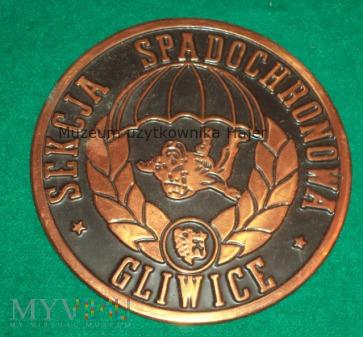 Duże zdjęcie Sekcja Spadochronowa Gliwice - plakieta