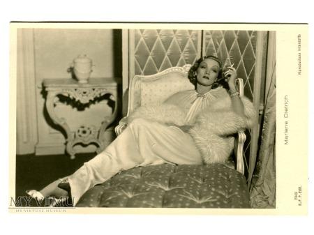 Marlene Dietrich Ballerini Fratini Postcard 2949