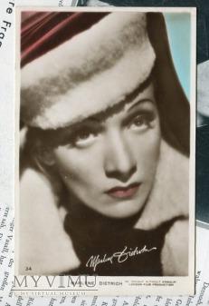Marlene Dietrich Art Photo Postcard nr 34