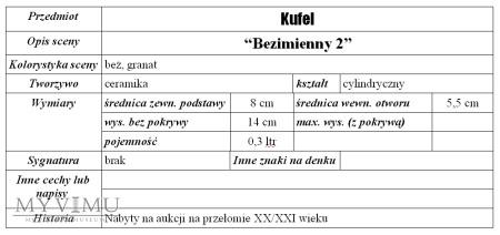 "Kufel ""Bezimienny 2"""