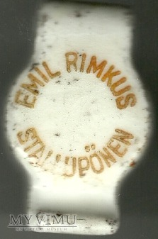 Stallupoenen (Stołupiany) Emil Rimkus