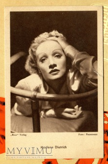 Marlene Dietrich ROSS Das Programm von Heute