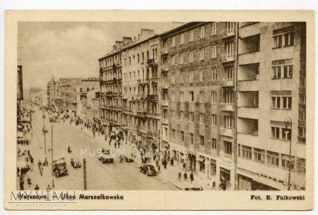 W-wa - ul. Marszałkowska - 1946-1950