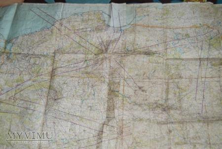 Duże zdjęcie Mapa Polski 1:500000, lata 60 XX wieku