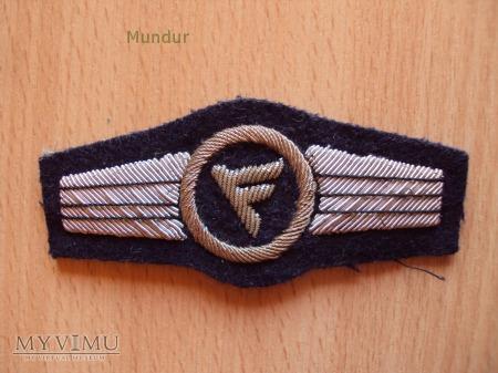 Oznaka haftowana Luftwaffe