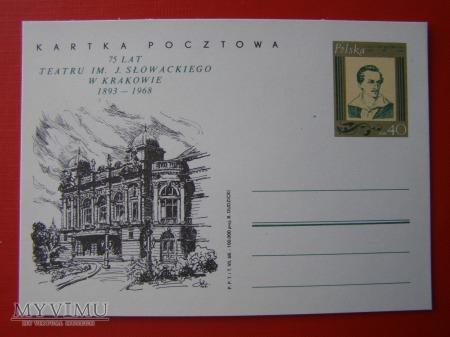 43. 75 lat Teatru im. J. Słowackiego w Krakowie