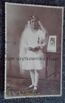 Stara fotografia komunijna Lwów 1934