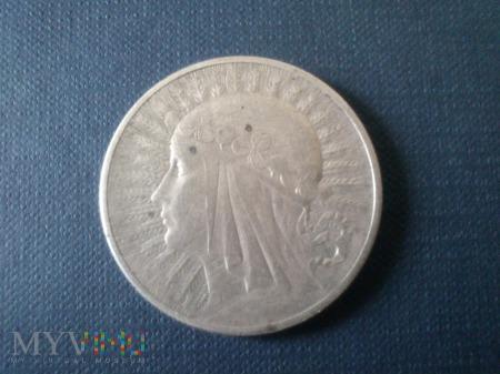 Dziesięć Złotych 1932r - Polonia srebro