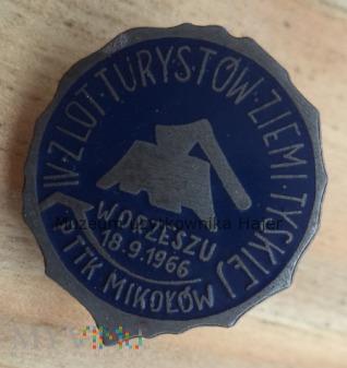 Zlot Turystów Ziemi Tyskiej Orzysz Mikołów 1966