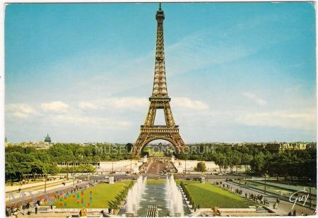 Paryż - Wieża Eiffla - Tour Eiffel - lata 80-te