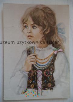 Muszyńska - Zamorska Danuta - kartka pocztowa