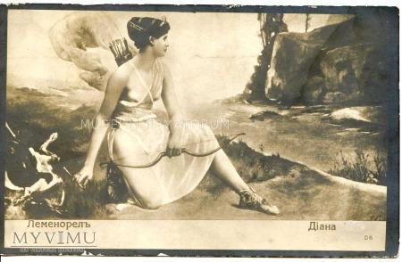 Ernest Emile Lemenorel - Diana na polowaniu