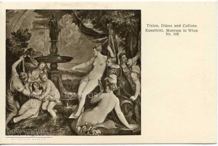 Tizian Tycjan - Diana i Callisto
