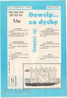 Dowcip...za dychę 1/95