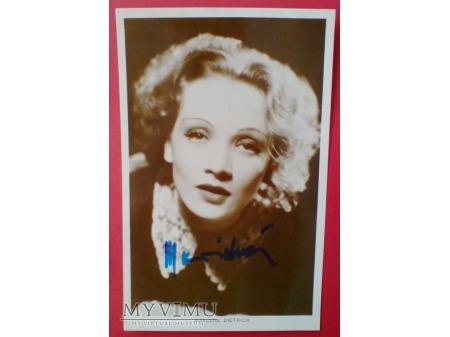 Marlene Dietrich MARLENA Autograf zdjęcie foto