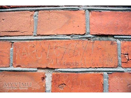 """Duże zdjęcie """"Stara Prochownia"""" - budynek A - inskrypcja #056"""
