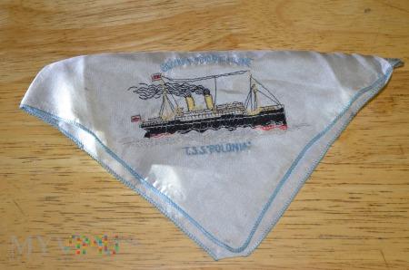 Chusteczka T.S.S. Polonia Linie Gdynia Ameryka