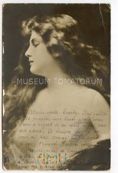 Piękna dziewczyna - 1899