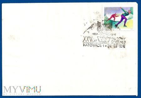 XXV Lat Obrony Cywilnej-katowice.26.2.1976.e