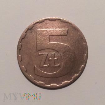 5 złotych 1983, Polska Rzeczpospolita Ludowa