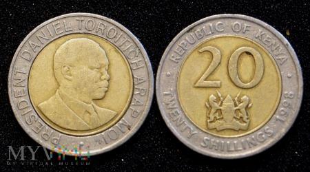 Kenia, 20 Shillings 1998
