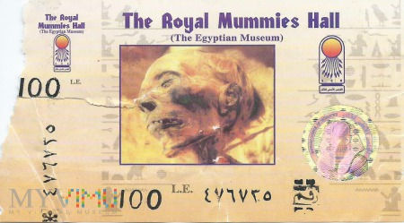 Kair- Muzeum Egipskie - sala mumii
