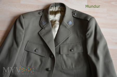 Mundur wyjściowy gabardynowy oficera wojsk ląd.