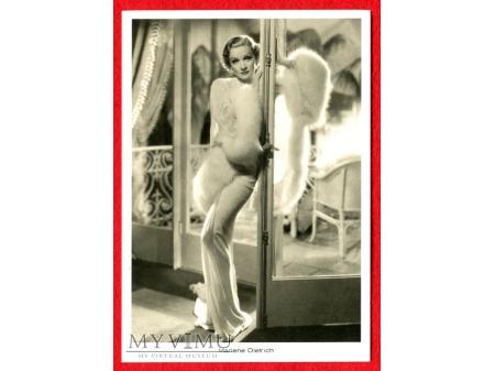 Marlene Dietrich Desire Pocztówka
