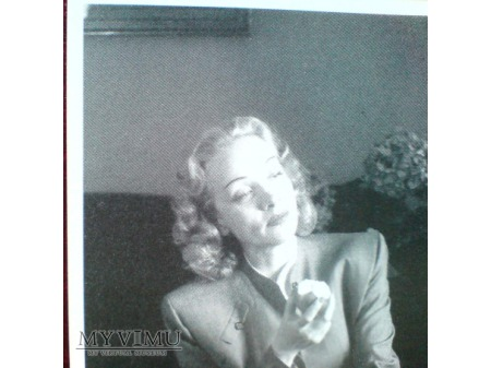 Marlene DIETRICH jabłko lata 40-te/50-te NOGI