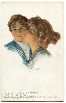 Philip Boileau My Boy Mój Chłopiec pocztówka 298
