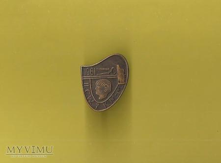 Odznaka II C.W.i K.M-M 1961
