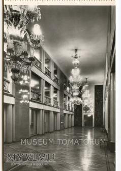Warszawa - Teatr Wielki wnętrza - 1967