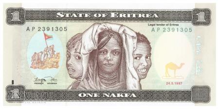 Erytrea - 1 nakfa (1997)