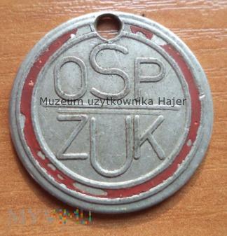 ŻUK OSP identyfikator zawieszka Straż Pożarna