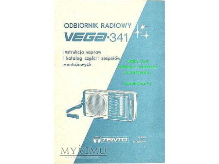 Instrukcja radia VEGA 341