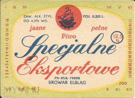 Specjalne Eksportowe (PN-81)