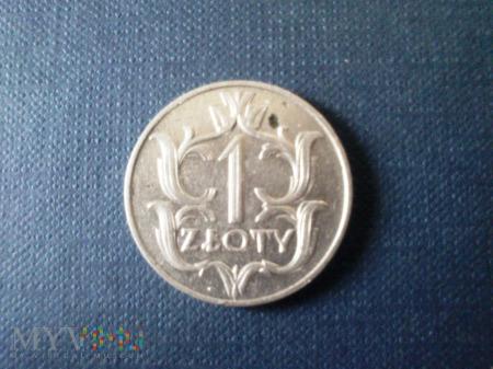 Jeden Złoty - Polska 1929 r