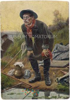Duże zdjęcie Pierow - Wędkarz - pocz. XX wieku