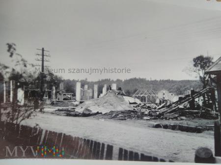 zniszczenia w Rabce 1939