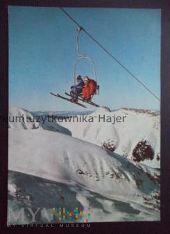 TATRY ZACHODNIE Wyciąg narciarski na Hali Goryczko
