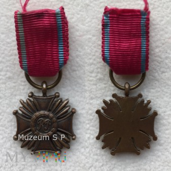 Brązowy Krzyż Zasługi - miniatura